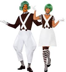 Oompa Loompa Halloween Costumes Adults Couple U0026 Group Costumes Costumes Couples