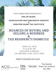 Tree Event Fpa Of Miami Serving Financial Professionals In Miami