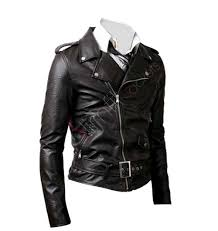 biker jacket men rider biker black leather jacket for men women