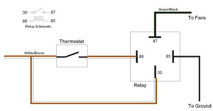 how to add relay to cooling fans mgb u0026 gt forum mg experience