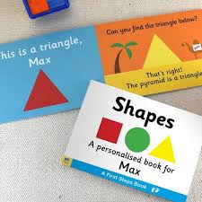 personalised childrens learning shapes board book i just it