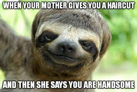 Sloth Meme Images - swag sloth with haircut memes imgflip