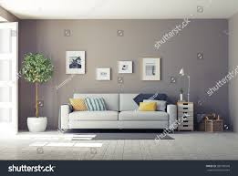 Modern Interiord Design Concept Stock Illustration - Modern interior design concept