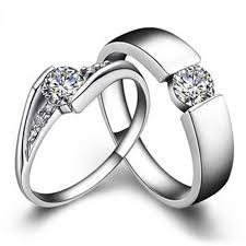 couples jewelry rings images Genuine gold rings for couple diamond ring for lovers jewelry sona jpg