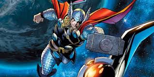 can thor fly without mjolnir cbr
