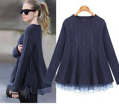 navy sweaters 2016 organza sweater dresses twinset navy