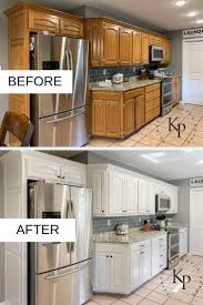 kitchen makeovers with cabinets kitchen cabinets painted in neutral ground painted by