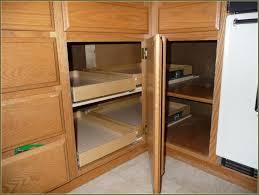 blind corner cabinet solutions diy home design ideas