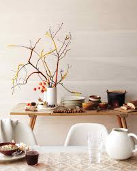 Branch Decor Quick And Crafty Thanksgiving Table Toppers Martha Stewart