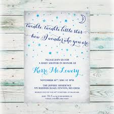 twinkle twinkle baby shower invitations printable twinkle twinkle baby shower invitation diy