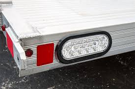 oval led truck lights and trailer lights with clear lens 6 u201d led