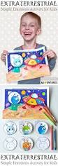 extraterrestrial emotions a coloring and crafting activity for