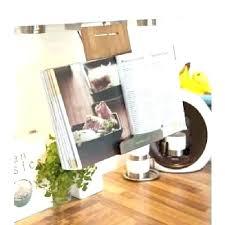 lutrin de cuisine support livre cuisine porte livre de cuisine lutrin de cuisine