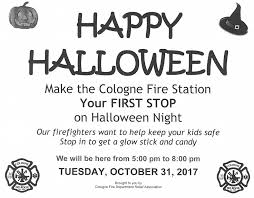make your first stop on halloween the cologne fire station