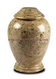 cremation urns for burial manufacture and exporter fossil marble urns fossil marble funeral