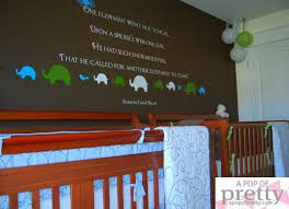 elephant baby room ideas from a pop of pretty blog new baby