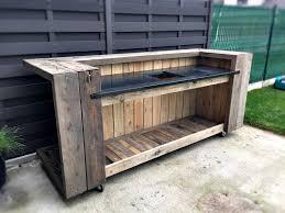 pallet outdoor kitchen bar pallets outdoor kitchen bars and bar