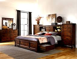 Bedroom Sets Kanes Bedroom Furniture Wolf Creek 5 Piece Bookcase Bedroom Set With
