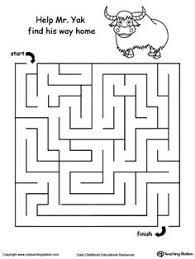 slug maze slug fine motor skills and maze