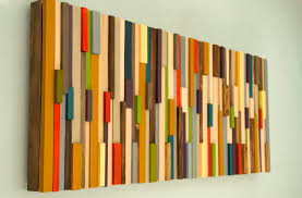 wood pieces for walls modern large wall reclaimed wood sculpture painted wood