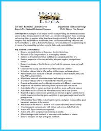 Warehouse Job Titles Resume Outstanding Details You Must Put In Your Awesome Bartending Resume