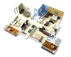 3d apartment floor plans 2 bedroom laferida com floor picture