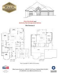 the florence iimodel details kansas city custom home builder
