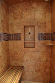 preformed receseed shower niche traditional bathroom seattle