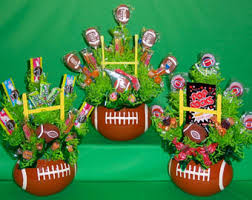 Candy Themed Party Decorations Football Candy Etsy