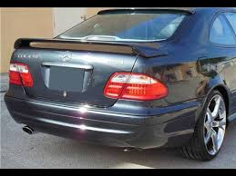 mercedes clk coupe 1998 2002 mercedes clk coupe opera style rear wing spoiler