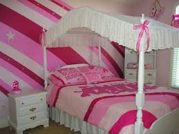 Bedroom Accent Wall Design Ideas Bedroom Bedroom Cheerful Pink Stripe Accent Wall Design Ideas