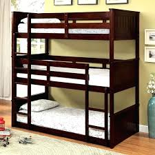 3 Tier Bunk Bed Three Tier Bunk Bed Wood Bunk Bed 3 Tier Bunk Beds