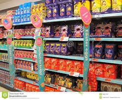 easter eggs for sale chocolate easter eggs on sale editorial photography image of