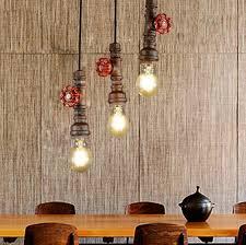 industrial pipe light fixture loft style water pipe l edison pendant light fixtures vintage
