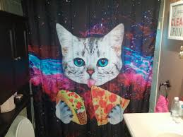 Science Shower Curtains Society6 The Shower Curtain My Brother Put Up Is Nothing Short Of