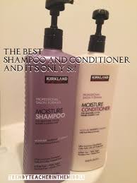kirkland shampoo u0026 conditioner from costco hair and makeup for