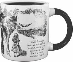 famous coffee mugs amazon com cheshire cat disappearing coffee mug add water