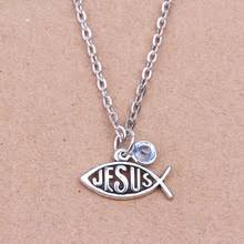 jesus fish necklace compare prices on jesus fish necklace online shopping buy low