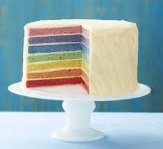 rainbow wedding cake recipe food for health recipes