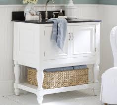 corner bathroom sinks cabinets dark countertop combined glossy