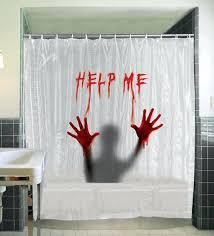 Skyline Shower Curtain Cityscape Fabric Shower Curtain Bathroom Decoration New York City
