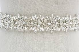 satin sash belt rhinestone bridal sash rhinestone and wedding belt