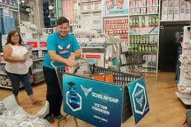 Bed Bath Beyond Charlotte Nc Hornets Players Scholarship Fund College Shopping Bed Bath