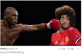 Meme Boxing - marouane fellaini becomes a meme sensation after hilarious picture