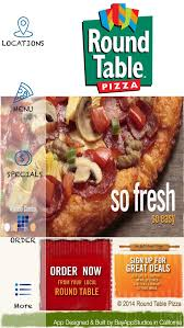 8 Best Round Table Pizza App Images On Pinterest Pizza Location