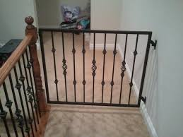 Child Safety Gates For Stairs With Banisters Baby Gates Traditional Staircase Las Vegas By Jd Stairs Inc