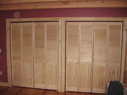Finished Basement Storage Ideas Temporary Wall Made Out Of Louver Doors Storage Ideas