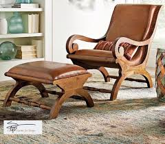 Leather Animal Ottoman by Augusto Chair Love British Colonial Chair And Ottoman Teak And