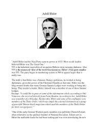 Seeking Adolf Adolf And Christianity Germany Adolf