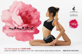 Mother S Day 2017 Mamaste Mother U0027s Day Restorative Yoga Free Yoga With Carmen Wong